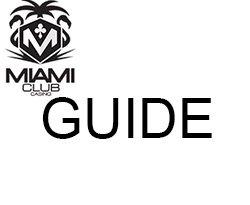 logo Miami club + GUIDE